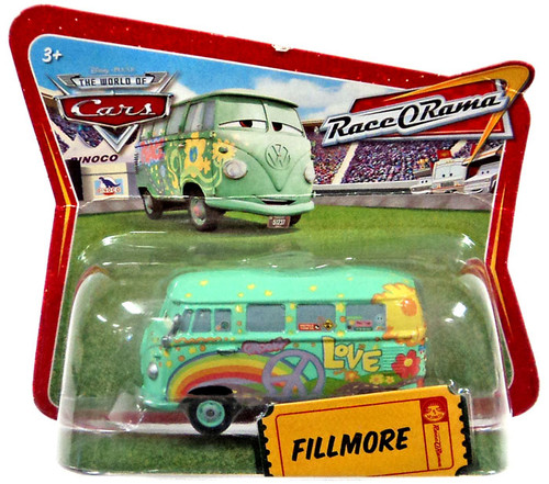 Disney / Pixar Cars The World of Cars Race-O-Rama Fillmore Diecast Car [Checkout Lane Package]