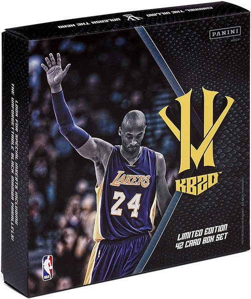 NBA Panini Kobe Bryant Hero Villain Basketball KB20 Trading Card Box Set [Limited Edition, 42 Cards]
