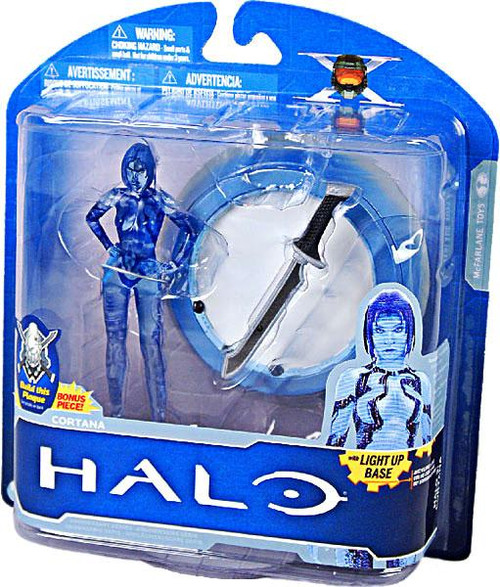 McFarlane Toys Halo 3 10th Anniversary Series 1 Cortana Action Figure [Damaged Package]