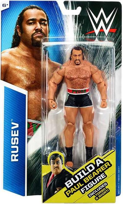 WWE Wrestling Rusev Action Figure [Build Paul Bearer]