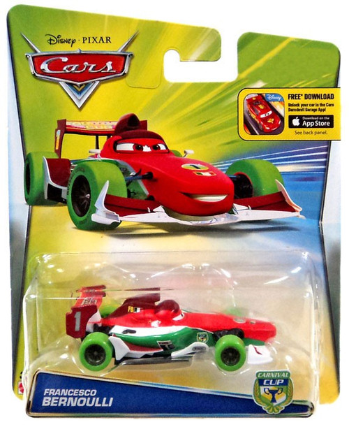 Disney / Pixar Cars Carnival Cup Francesco Bernoulli Exclusive Diecast Car