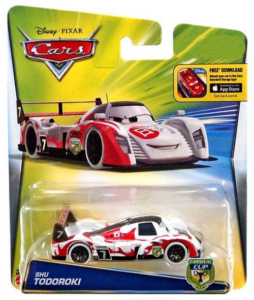 Disney / Pixar Cars Carnival Cup Shu Todoroki Exclusive Diecast Car