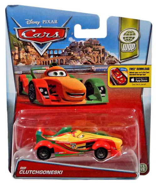 Disney / Pixar Cars WGP Rip Clutchgoneski Diecast Car #11/13