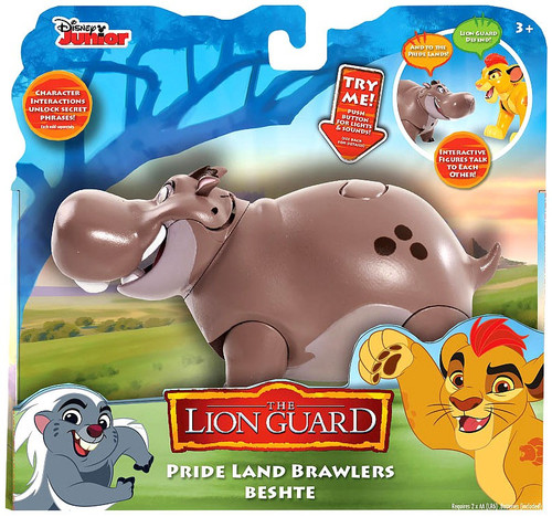Disney The Lion Guard Pride Land Brawlers Beshte Interactive Action Figure