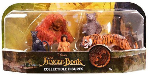 Disney 2016 Movie The Jungle Book Collectible Figure Set