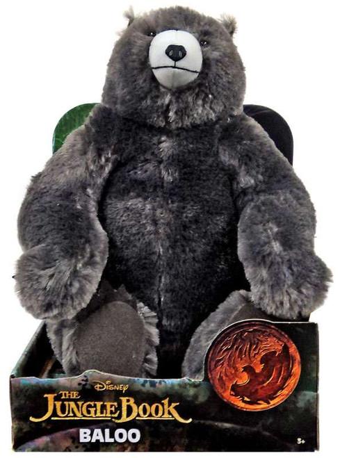 Disney The Jungle Book 2016 Movie Baloo 12-Inch Plush