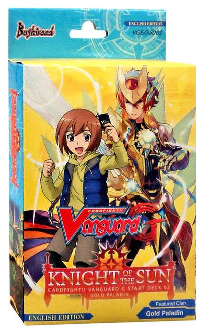 Cardfight Vanguard Trading Card Game Knight of the Sun 02 Start Deck VGE-G-SD02