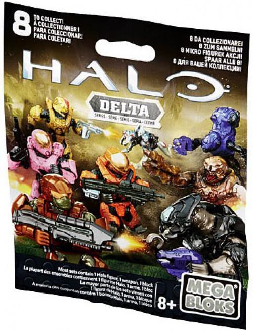 Mega Bloks Halo Delta Minifigure Mystery Pack [1 RANDOM Figure]