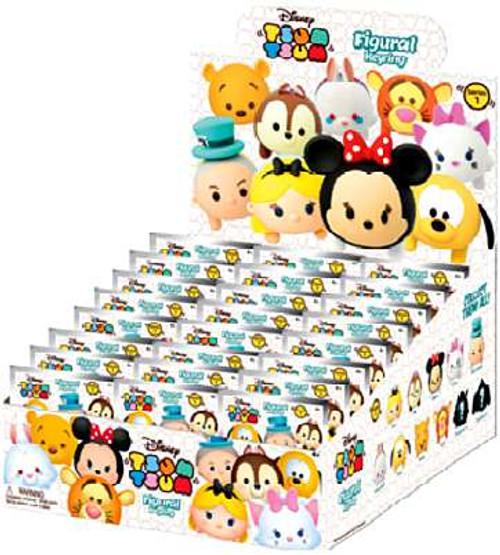 Disney 3D Figural Keyring Tsum Tsum Series 1 Mystery Box [24 Packs]