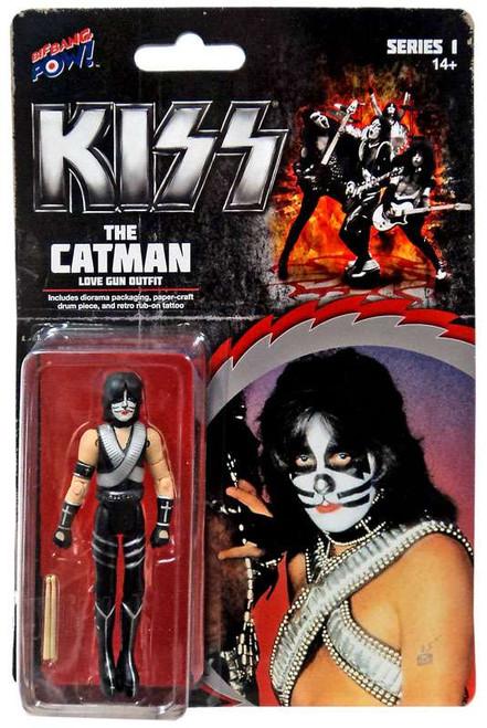 Kiss Series 1 The Catman Action Figure [Love Gun]