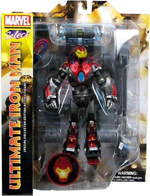 Marvel Select Ultimate Iron Man Action Figure [Damaged Package]
