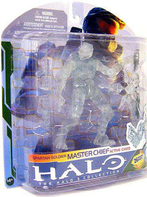 McFarlane Toys Halo 3 Series 5 Master Chief Action Figure [Active Camo, Damaged Package]