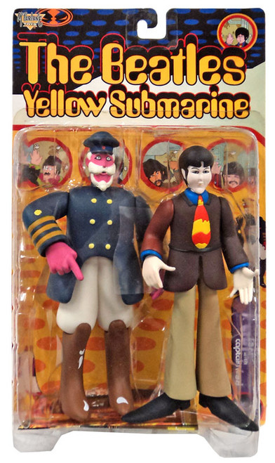 McFarlane Toys The Beatles Yellow Submarine Feature Film Figures Paul Action Figure [with Captain Fred]