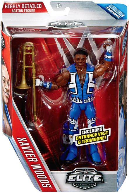 WWE Wrestling Elite Collection Series 42 Xavier Woods (New Day) Action Figure [Entrance Vest & Trombone]