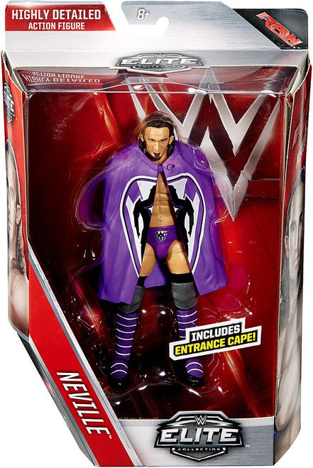 WWE Wrestling Elite Collection Series 42 Neville Action Figure [Entrance Cape]