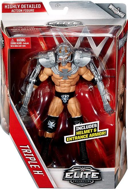 WWE Wrestling Elite Collection Series 42 Triple H Action Figure [Helmet & Entrance Armor]