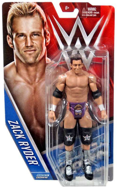 WWE Wrestling Series 61 Zack Ryder Action Figure