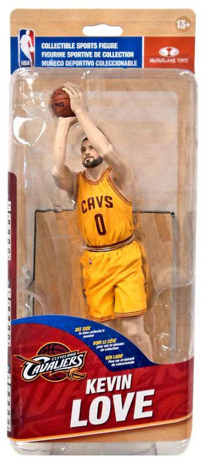 McFarlane Toys NBA Cleveland Cavaliers Sports Picks Series 28 Kevin Love Action Figure [Yellow Jersey]