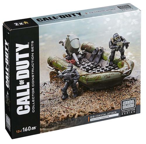 Mega Bloks Call of Duty Rib Coastal Attack Set #32720