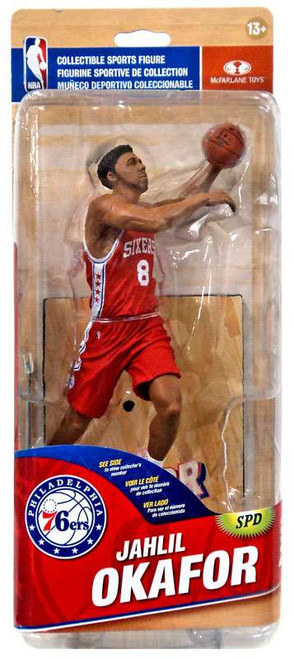 McFarlane Toys NBA Philadelphia 76ers Sports Picks Series 28 Jahlil Okafor Action Figure [Red Jersey]