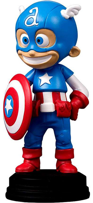 Marvel Captain America Animated Style Statue