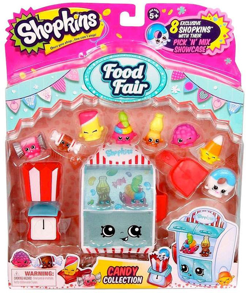 Shopkins Food Fair Candy Collection Theme Pack