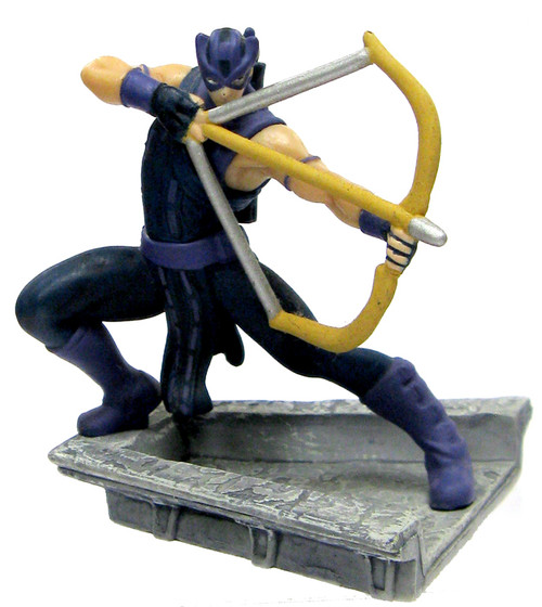 Disney Marvel Avengers Hawkeye PVC Figure [Comic Version Loose]