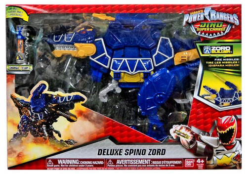 Power Rangers Dino Super Charge Spino Zord Deluxe Action Figure