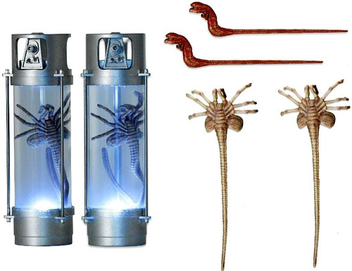 NECA Aliens 30th Anniversary 7-Inch Deluxe Creature Pack