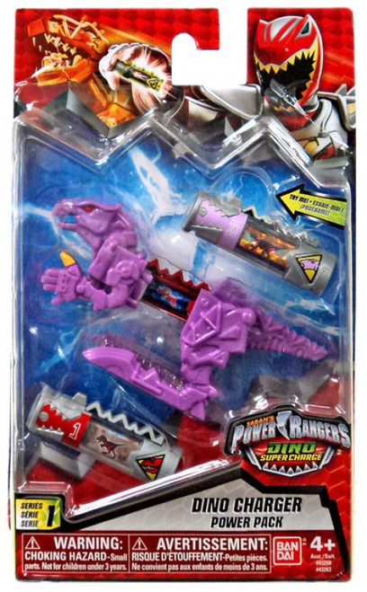 Power Rangers Dino Super Charge Series 1 Purple Dino Charger Power Pack #32638