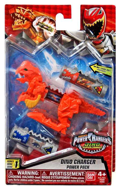Power Rangers Dino Super Charge Orange Dino Charger Power Pack #43262 [Version 2]