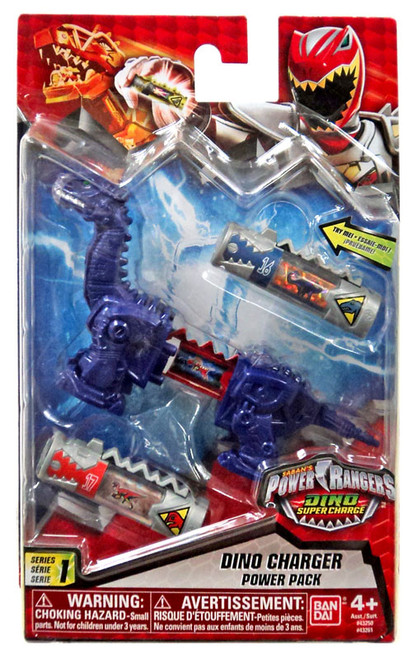 Power Rangers Dino Super Charge Series 1 Blue Dino Charger Power Pack #43250