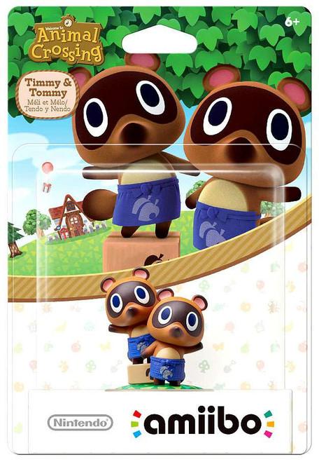Nintendo Animal Crossing Amiibo TImmy & Tommy Mini Figure