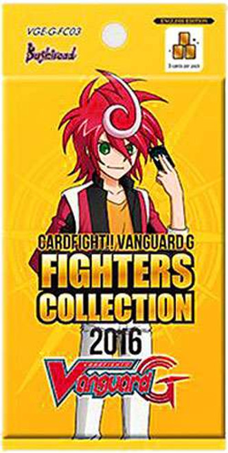 Cardfight Vanguard Trading Card Game Fighters Collection 2016 Booster Pack VGE-G-FC03