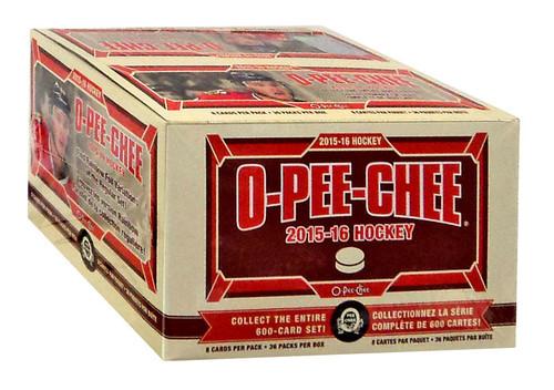 NHL 2015-16 O-Pee-Chee Hockey Trading Card RETAIL Box [36 Packs]