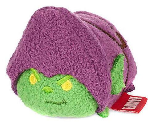 Disney Marvel Universe Tsum Tsum Green Goblin 3.5-Inch Mini Plush