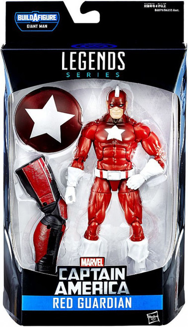 Captain America Civil War Marvel Legends Giant Man Series Red Guardian Action Figure