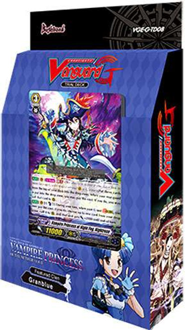 Cardfight Vanguard Trading Card Game Vampire Princess of the Nether Hour Trial Deck VGE-G-TD08