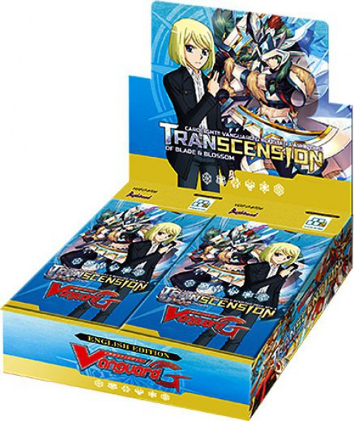 Cardfight Vanguard G Transcension of Blade & Blossom Booster Box VGE-G-BT06 [30 Packs]