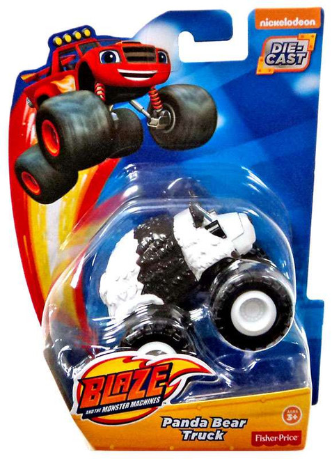 Fisher Price Blaze & the Monster Machines Panda Bear Truck Diecast Car