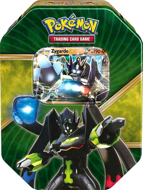 Pokemon Trading Card Game 2016 Shiny Kalos Zygarde Tin Set [4 Booster Packs & Promo Card!]