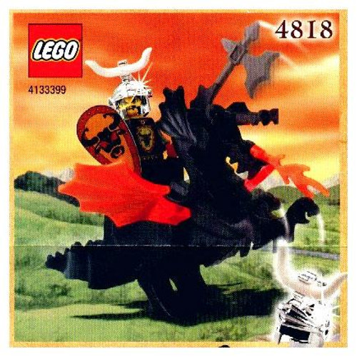 LEGO Knights Kingdom Dragon Rider Exclusive Set #4818 [Damaged Package]