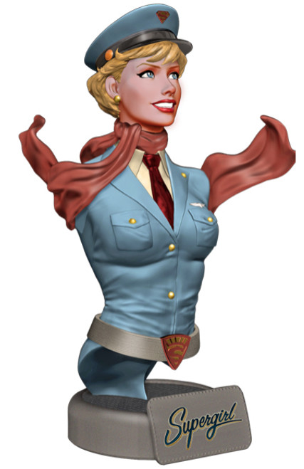 DC Bombshells Supergirl Bust
