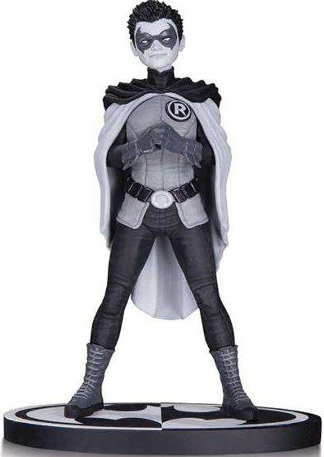 Batman Black & White Robin Statue [Frank Quitely]
