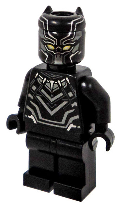 LEGO Marvel Super Heroes Captain America: Civil War Black Panther Minifigure [Loose]