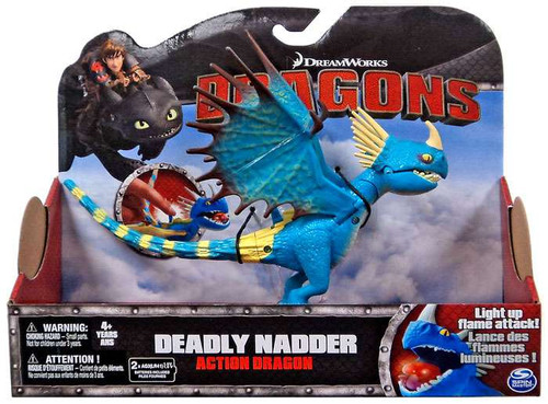 How to Train Your Dragon Dragons Action Dragon Deadly Nadder Action Figure