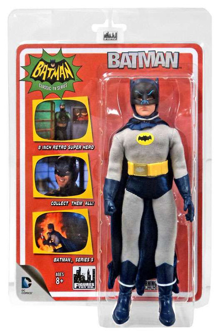 1966 TV Series Series 5 Batman Action Figure [Removable Cowl]