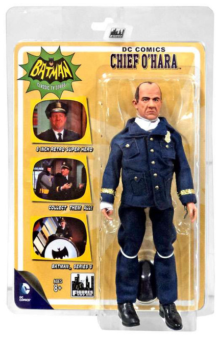 Batman 1966 TV Series Series 5 Chief O'Hara Action Figure