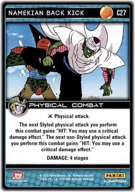 Dragon Ball Z Perfection Common Namekian Back Kick C27
