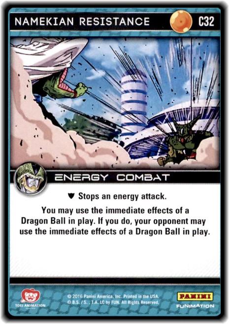 Dragon Ball Z Perfection Common Namekian Resistance C32
